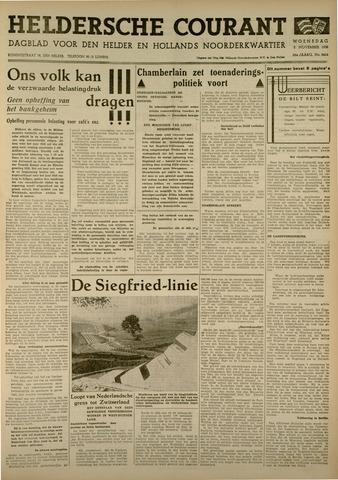 Heldersche Courant 1938-11-02