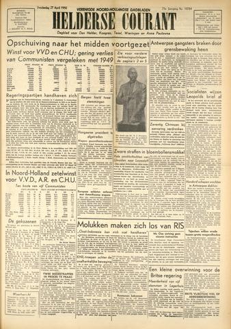 Heldersche Courant 1950-04-27