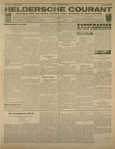 Heldersche Courant 1933-02-21