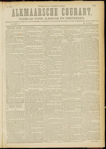 Alkmaarsche Courant 1919-04-29
