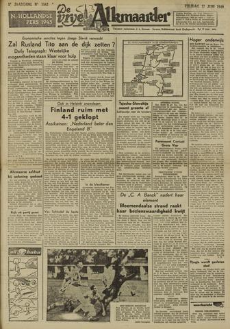 De Vrije Alkmaarder 1949-06-17