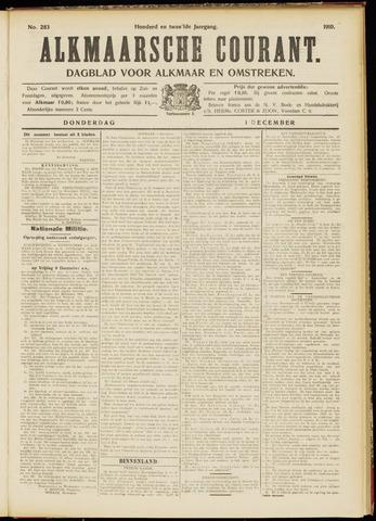Alkmaarsche Courant 1910-12-01