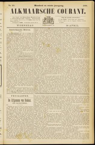 Alkmaarsche Courant 1899-04-26