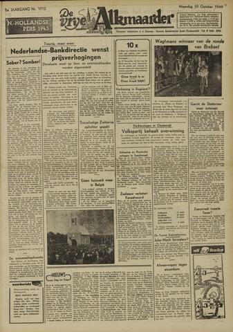 De Vrije Alkmaarder 1949-10-10