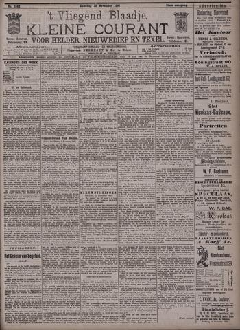 Vliegend blaadje : nieuws- en advertentiebode voor Den Helder 1897-11-13