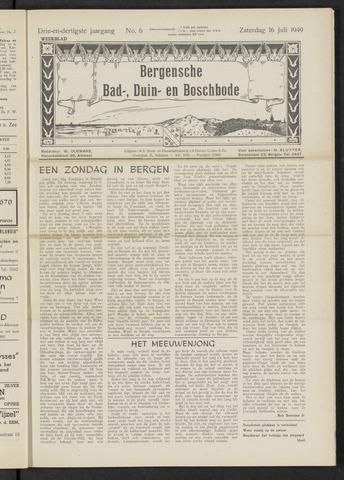 Bergensche bad-, duin- en boschbode 1949-07-16