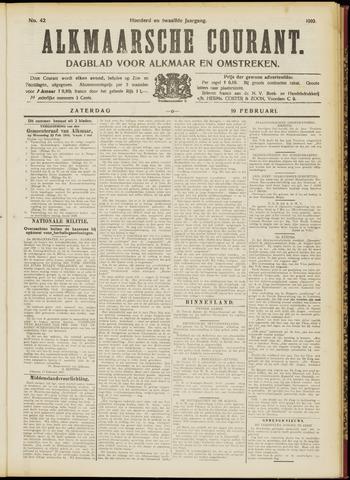 Alkmaarsche Courant 1910-02-19