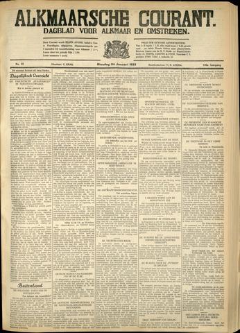 Alkmaarsche Courant 1933-01-24