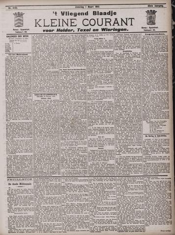 Vliegend blaadje : nieuws- en advertentiebode voor Den Helder 1902-03-01