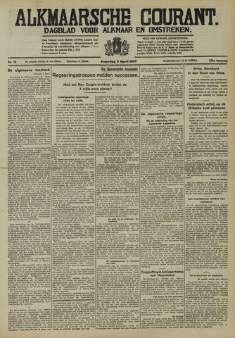 Alkmaarsche Courant 1937-04-03
