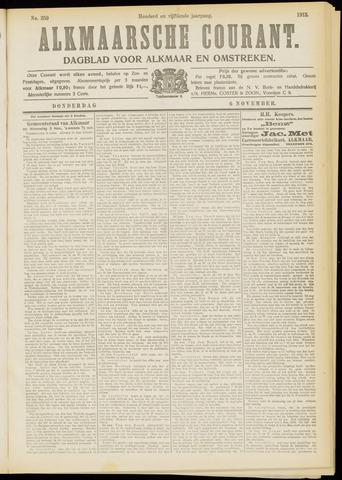Alkmaarsche Courant 1913-11-06