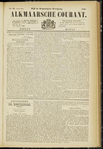 Alkmaarsche Courant 1893-07-30