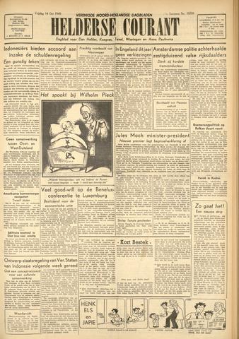 Heldersche Courant 1949-10-14