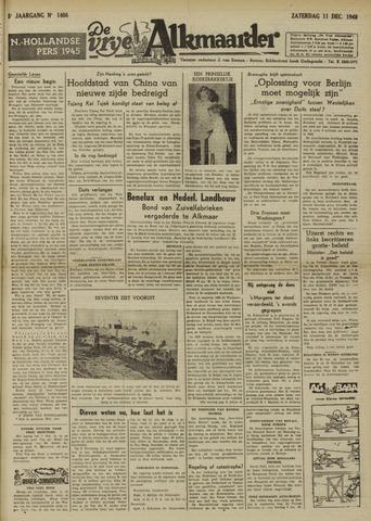 De Vrije Alkmaarder 1948-12-11