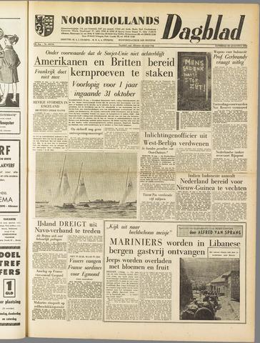 Noordhollands Dagblad : dagblad voor Alkmaar en omgeving 1958-08-23