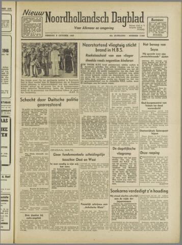Nieuw Noordhollandsch Dagblad : voor Alkmaar en omgeving 1946-10-08