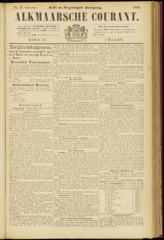 Alkmaarsche Courant 1896-03-01