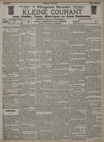 Vliegend blaadje : nieuws- en advertentiebode voor Den Helder 1908-05-02