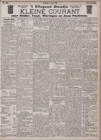 Vliegend blaadje : nieuws- en advertentiebode voor Den Helder 1906-04-07