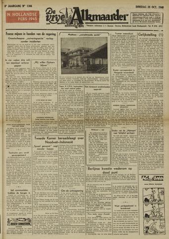 De Vrije Alkmaarder 1948-10-26