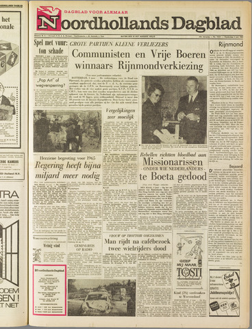 Noordhollands Dagblad : dagblad voor Alkmaar en omgeving 1965-06-03