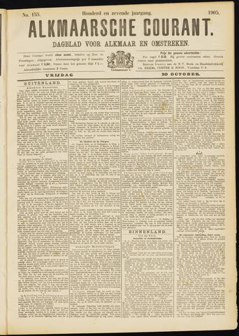 Alkmaarsche Courant 1905-10-20