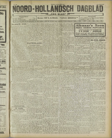 Ons Blad : katholiek nieuwsblad voor N-H 1921-10-28