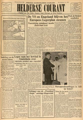 Heldersche Courant 1954-06-29