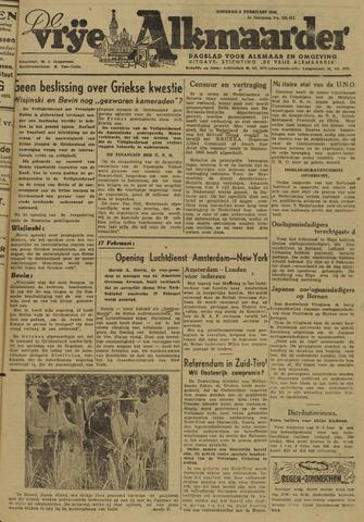 De Vrije Alkmaarder 1946-02-05