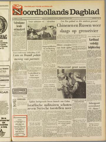 Noordhollands Dagblad : dagblad voor Alkmaar en omgeving 1969-07-09