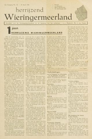 Herrijzend Wieringermeerland 1946-04-27