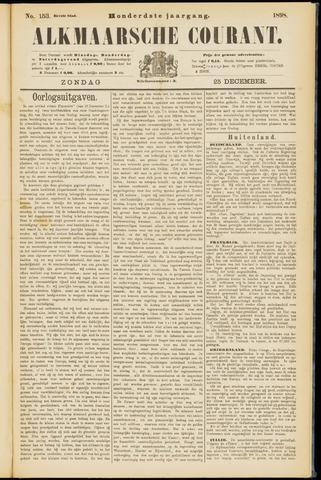 Alkmaarsche Courant 1898-12-25