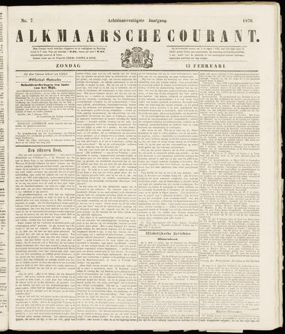 Alkmaarsche Courant 1876-02-13