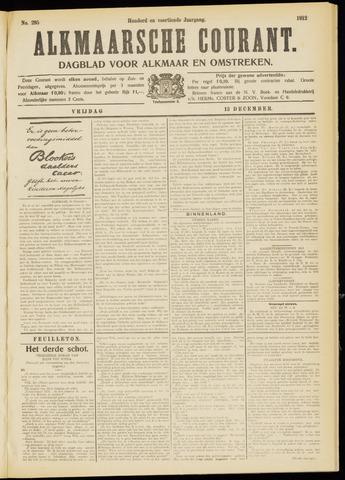 Alkmaarsche Courant 1912-12-13