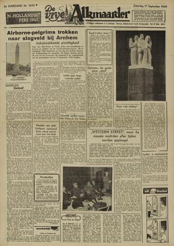 De Vrije Alkmaarder 1949-09-17