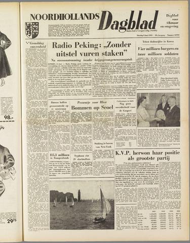 Noordhollands Dagblad : dagblad voor Alkmaar en omgeving 1953-06-09