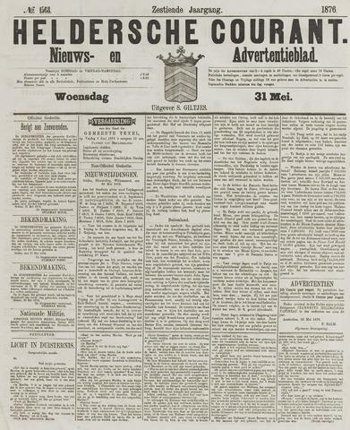 Heldersche Courant 1876-05-31