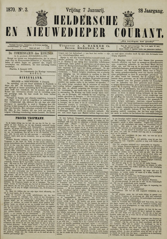 Heldersche en Nieuwedieper Courant 1870-01-07