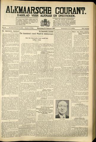 Alkmaarsche Courant 1937-02-24