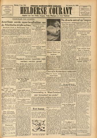 Heldersche Courant 1950-09-11
