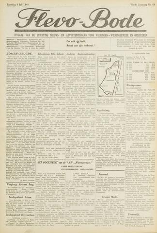 Flevo-bode: nieuwsblad voor Wieringen-Wieringermeer 1949-07-09