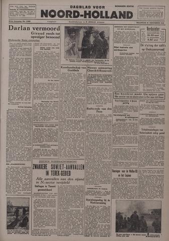 Dagblad Noord-Holland, Schager editie 1942-12-28