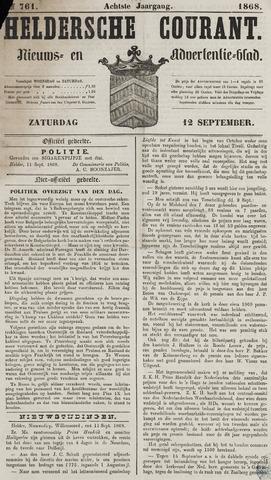 Heldersche Courant 1868-09-12
