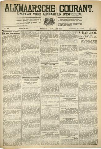 Alkmaarsche Courant 1930-03-14