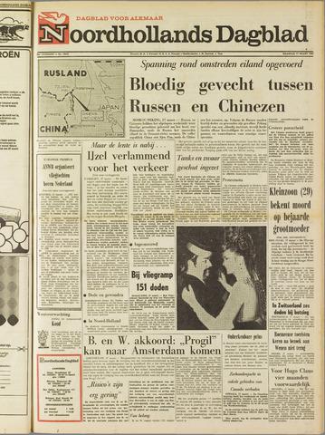 Noordhollands Dagblad : dagblad voor Alkmaar en omgeving 1969-03-17