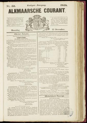 Alkmaarsche Courant 1858-12-13