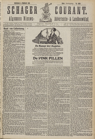Schager Courant 1920-02-11