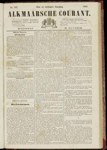 Alkmaarsche Courant 1881-10-26