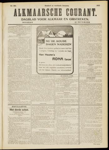 Alkmaarsche Courant 1912-11-12