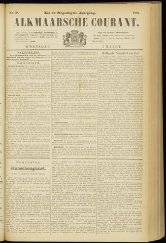 Alkmaarsche Courant 1894-03-07